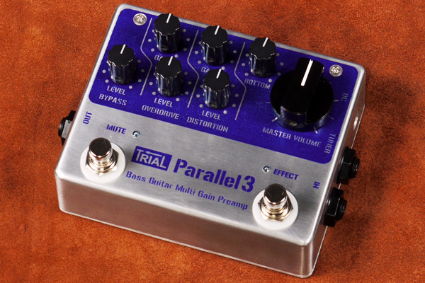TRIAL / Parallel 3 Bass Guitar Multi Gain Preamp 【★お取り寄せ】