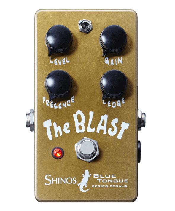 SHINOS / The Blast [BLUE TONGUE SERIES PEDALS] [オーバードライブ] ブラスト シノーズ【受注生産/納期14日間程度】
