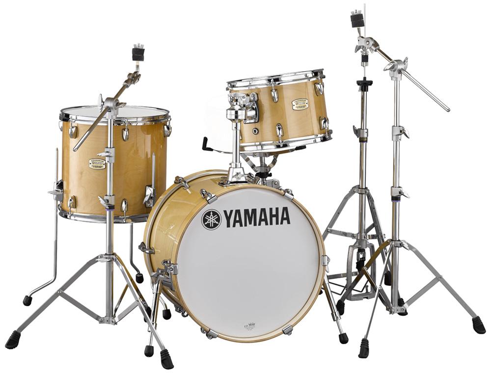 YAMAHA ステージカスタム Bop-Kit シェルパックとハードウェア一括セット SBP8F3NW+HW780 NWナチュラルウッド【YRK】