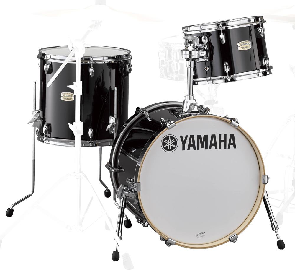 YAMAHA Bop-Kit SBP8F3RB ステージカスタム バーチ ドラムシェルキット 18BD 3点セット RBレーベンブラック【YRK】