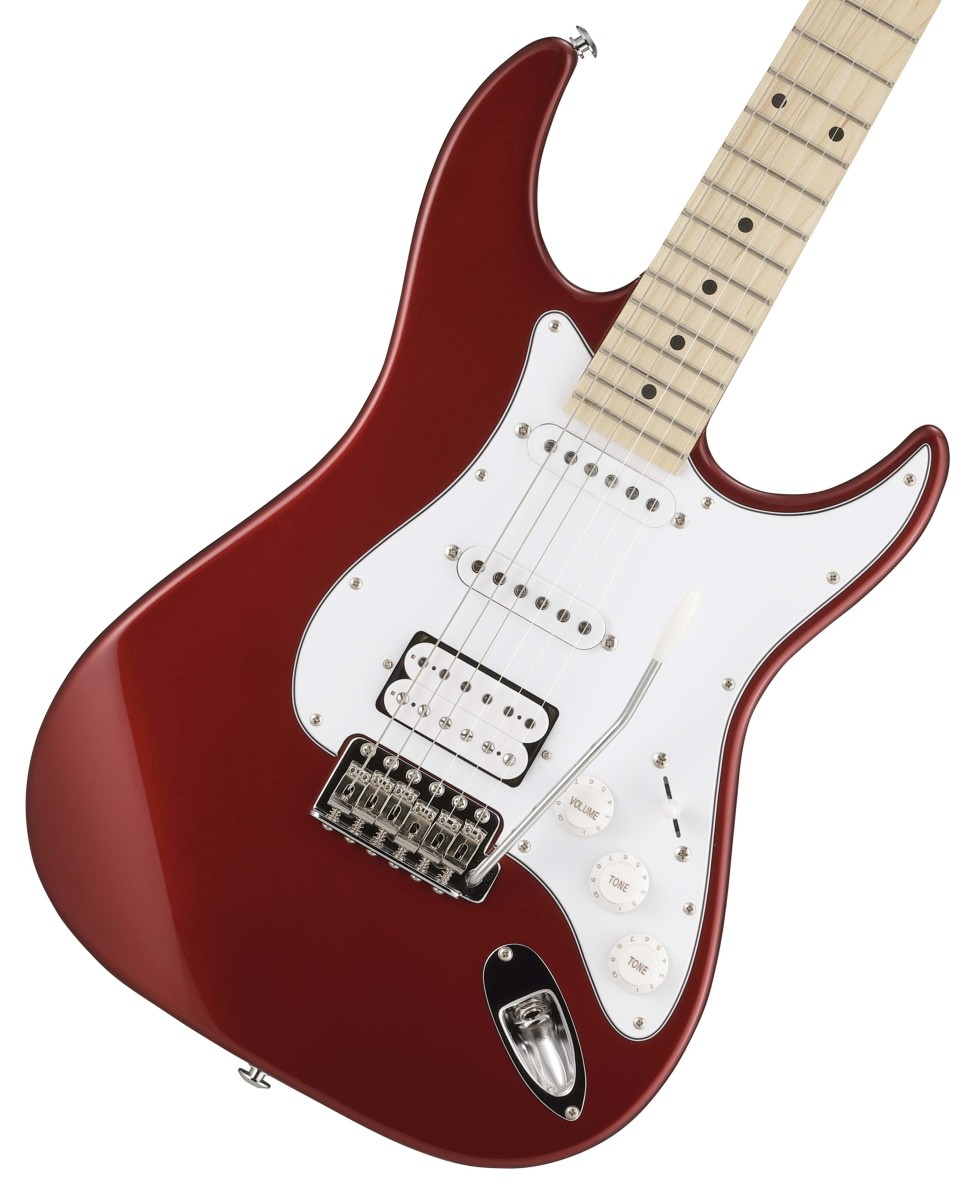 Greco / WS-STD SSH Metallic Red (MRD) Maple Fingerboard グレコ【お取り寄せ商品】