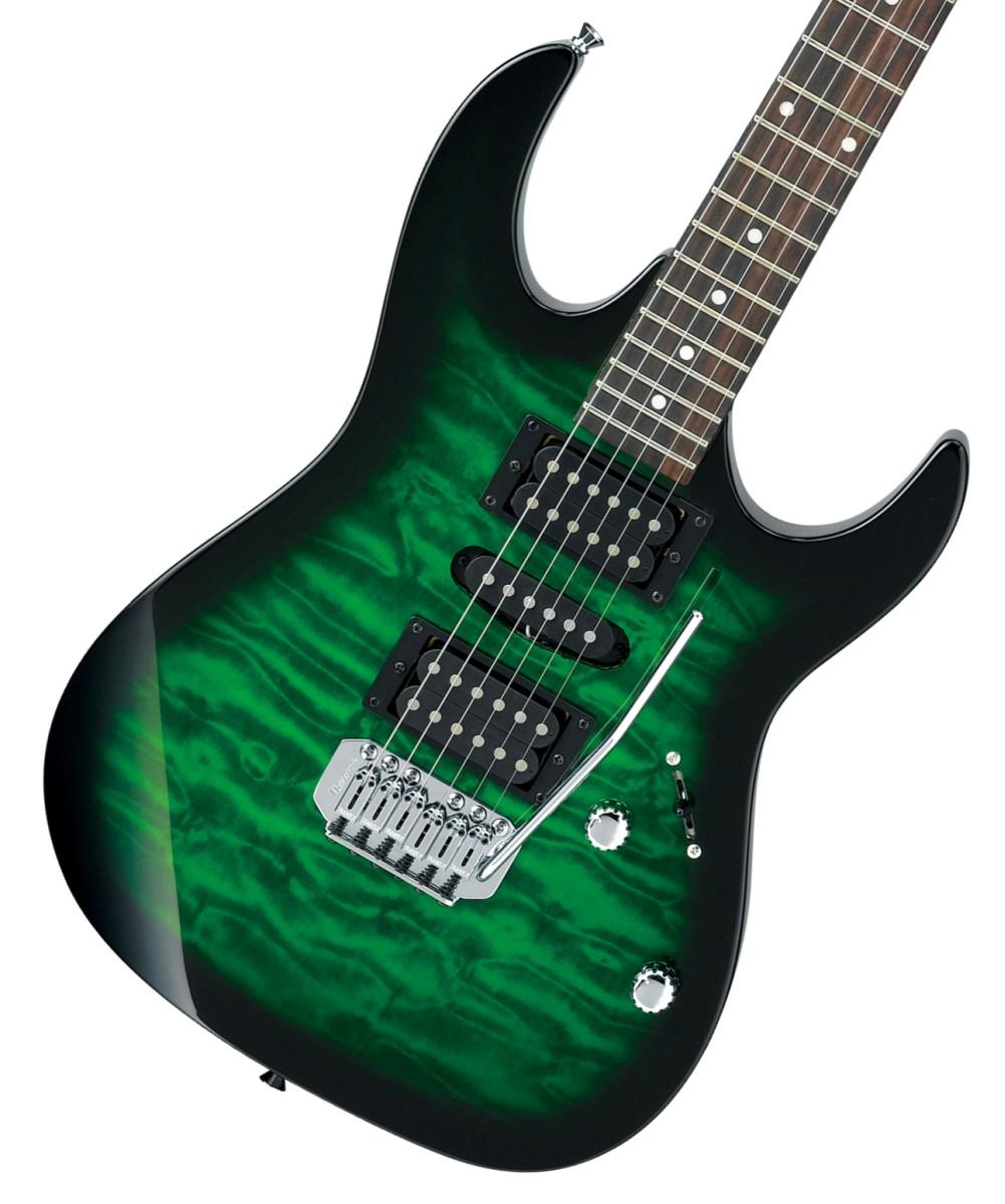 Ibanez / GIO Ibanez GRX70QA-TEB Transparent Emerald Burst アイバニーズ