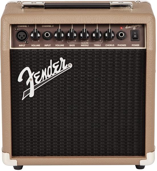 Fender / ACOUSTASONIC 15 COMBO 15wアコースティックギターアンプ フェンダー【国内正規品】【WEBSHOP】【お取り寄せ商品】