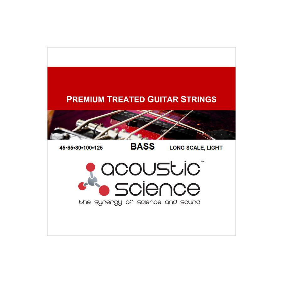 Acoustic Science / LACSEB5L45125 5弦エレキベース弦 ロングスケール ライトゲージ アコースティックサイエンス【お取り寄せ商品】