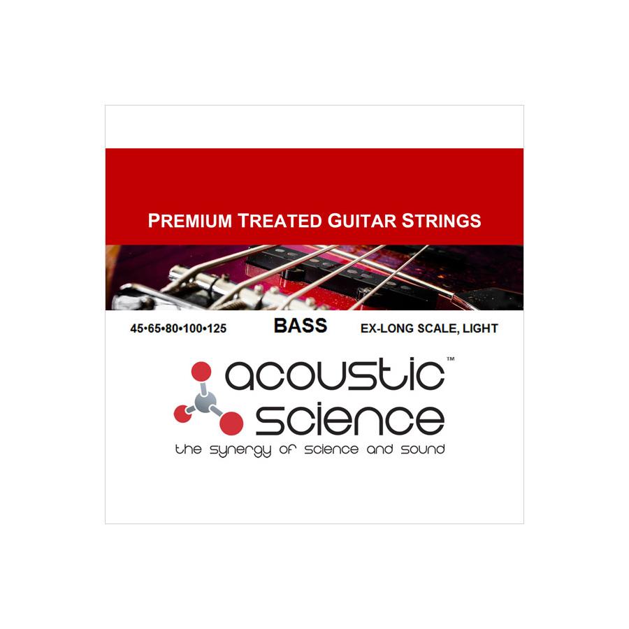 Acoustic Science / LACSEB5L45125XL 5弦エレキベース弦 エクストラロングスケール ライト アコースティックサイエンス【お取り寄せ商品】
