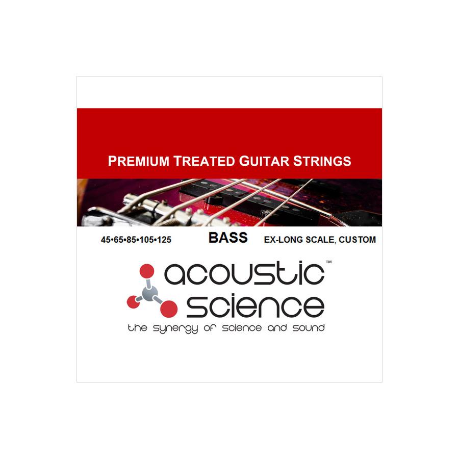 Acoustic Science / LACSEB5C45125XL 5弦エレキベース弦 エクストラロングスケール カスタム アコースティックサイエンス【お取り寄せ商品】