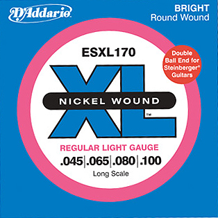 D'Addario / ESXL170 Regular Light 45-100 Double Ball End Long Scale 【★お取り寄せ】