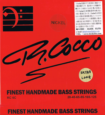 Richard Cocco / Finest Handmade Strings Nickel Tapered RC6CX(N) 028-125 Long Scale 6-Strings 【★お取り寄せ】