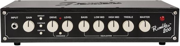 Fender / RUMBLE 200 HEAD 200wベースアンプヘッド ランブル フェンダー【国内正規品】【お取り寄せ商品】