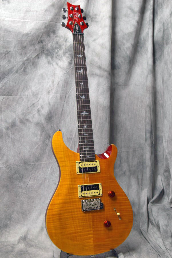 Paul Reed Smith (PRS) / SE Custom 24 Vintage Yellow (VY) ポールリードスミス【2017 NEW MODEL】