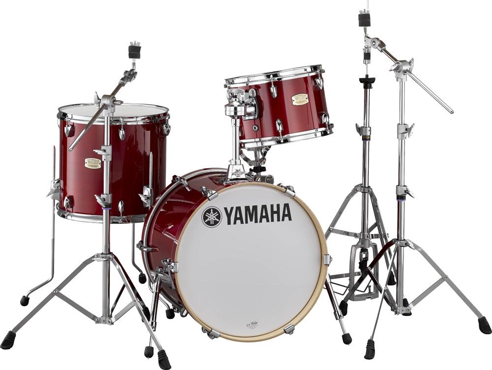 YAMAHA ステージカスタム Bop-Kit シェルパックとハードウェア一括セット SBP8F3CR+HW780 CRクランベリーレッド【YRK】