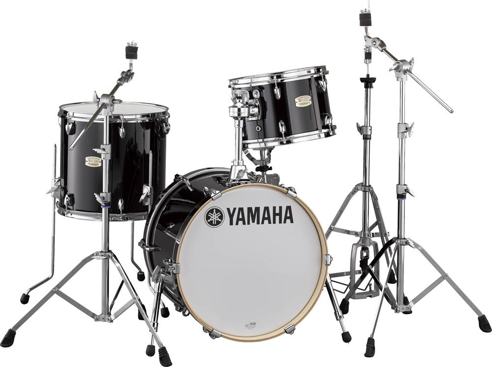YAMAHA ステージカスタム Bop-Kit シェルパックとハードウェア一括セット SBP8F3RB+HW780 RBレーベンブラック【YRK】