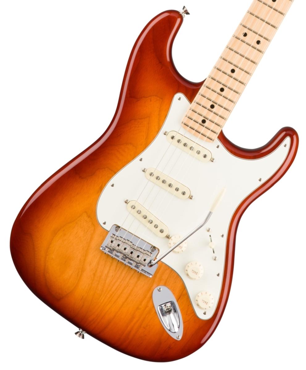 【タイムセール:29日12時まで】Fender USA / American Professional Stratocaster Ash Sienna Sunburst Maple フェンダー【YRK】《純正ケーブル&ピック1ダースプレゼント!/+661944400》