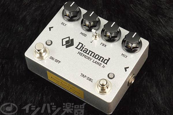Diamond Guitar Pedals / Memory Lane Jr. Digital Delay with Tap Tempo 【★お取り寄せ】