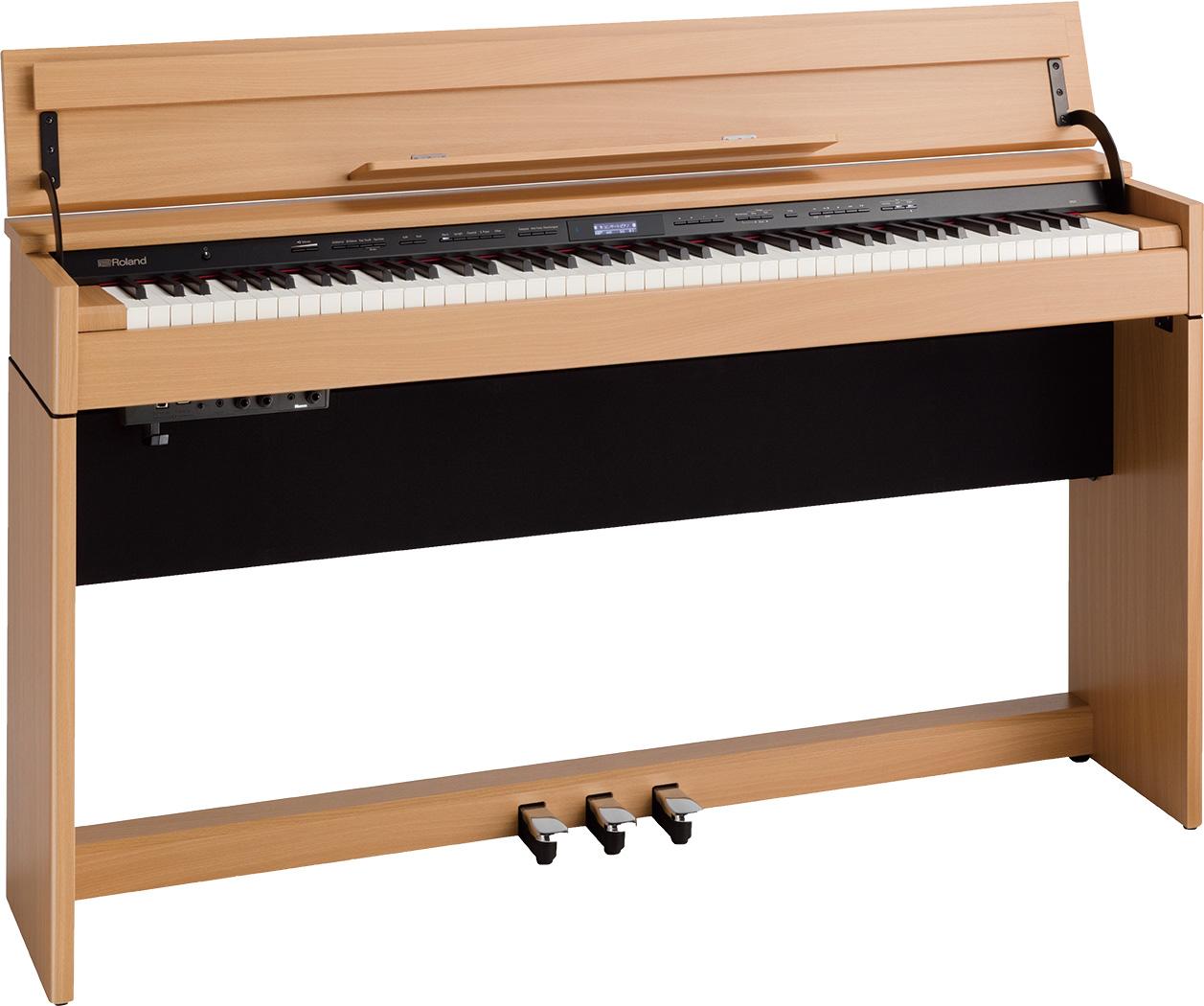 【全国組立設置無料】Roland ローランド / DP603 NBS ナチュラルビーチ調 電子ピアノ (DP-603)(DP603-NBS)【代引き不可】【YRK】【PTNB】