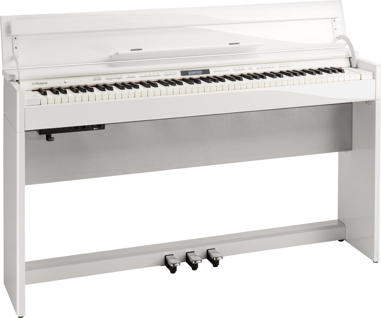 【全国組立設置無料】Roland ローランド / DP603 PWS 白塗鏡面艶出し塗装仕上げ 電子ピアノ (DP-603)(DP603-PWS)【代引き不可】【YRK】【PTNB】