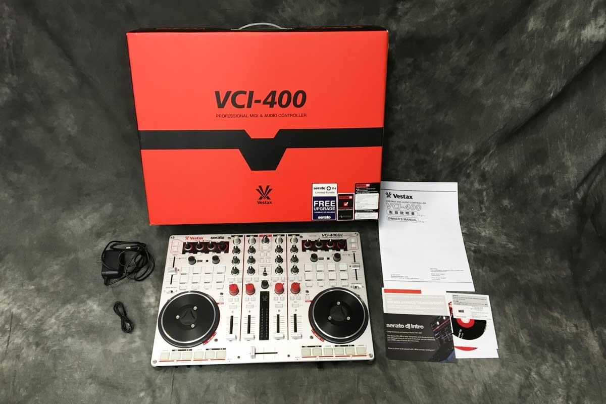 Vestax / VCI-400DJ USB MIDI Audio Controller 【展示品特価】【Serato DJ対応】