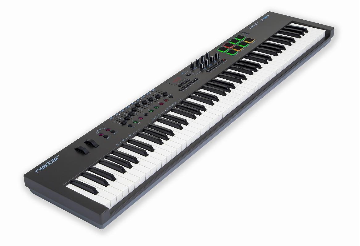 NEKTAR TECHNOLOGY ネクターテクノロジー / IMPACTLX88+ USB/MIDIキーボード【お取り寄せ商品】