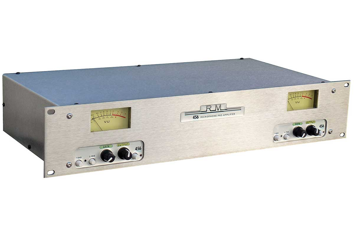 Roger Mayer ロジャーメイヤー / 456 Microphone Pre-Amplifier マイク・プリアンプ with アナログ・テープ・シミュレーター【受注生産品】