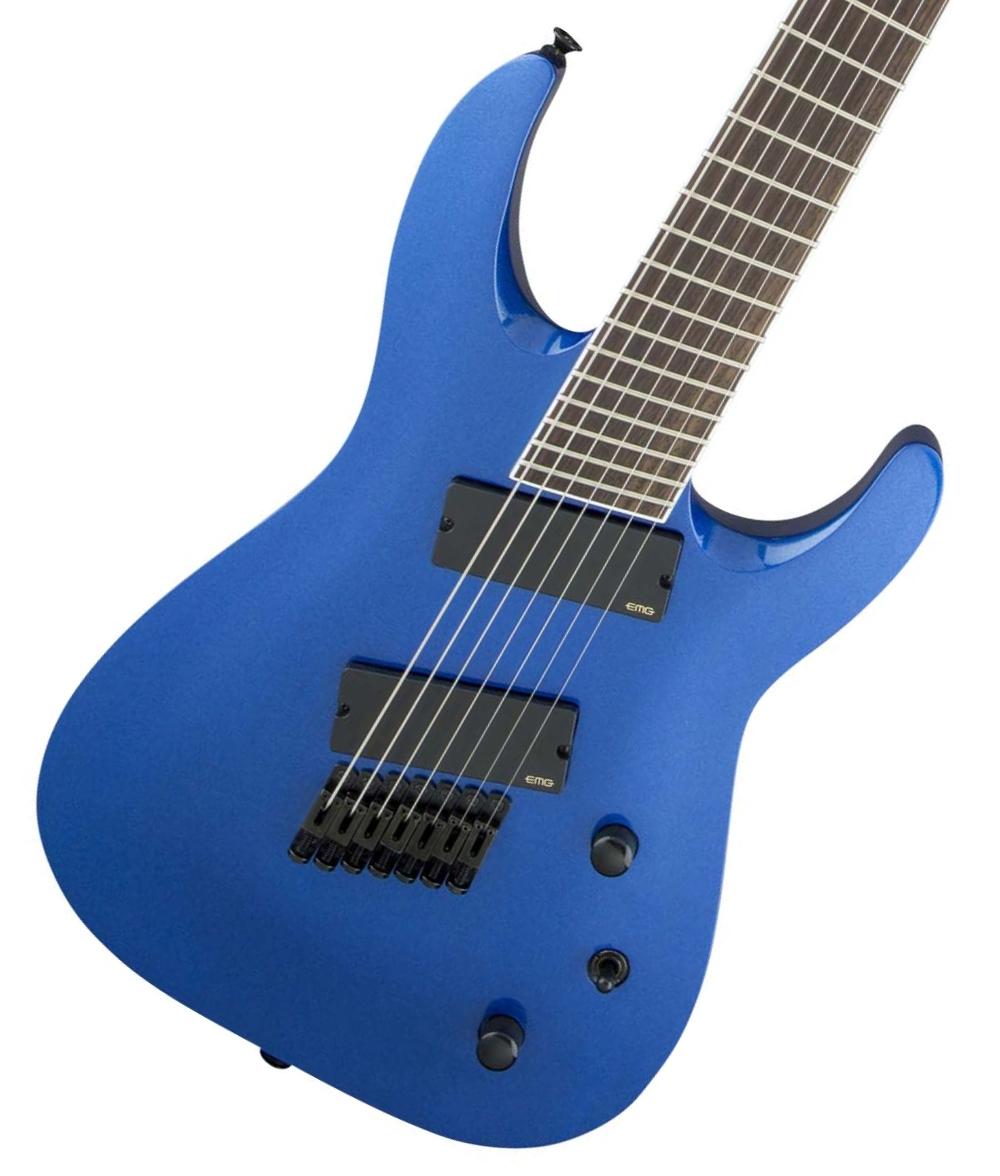 Jackson / X Series Soloist Archtop SLAT7 MS Metallic Blue ジャクソン
