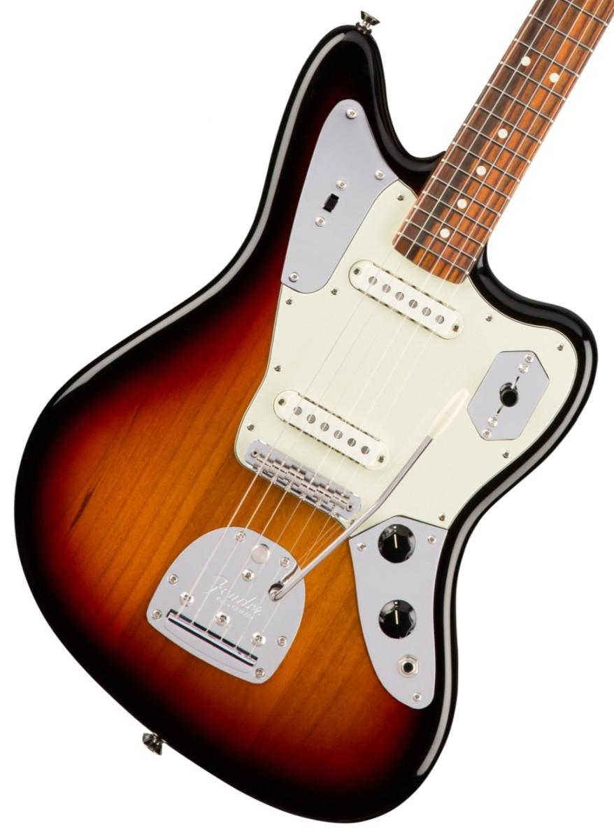 Fender USA / American Pro Jaguar 3-Color Sunburst Rosewood フェンダー【お取り寄せ商品】《カスタムショップのお手入れ用品を進呈/+671038200》《フェンダー純正グッズを進呈/+79083》