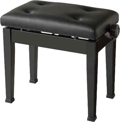 ITOMASA / ピアノ椅子 AS 黒【お取り寄せ商品】