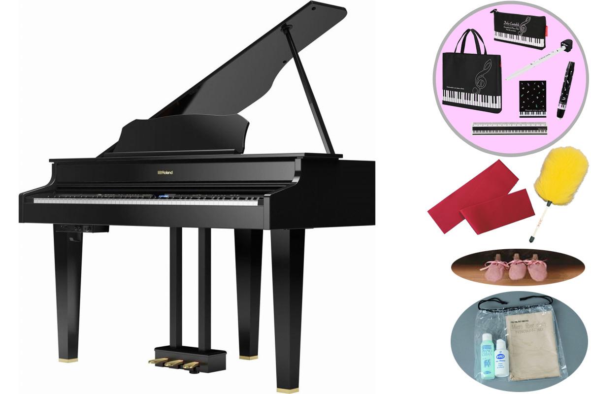 Roland ローランド / GP607 PES 黒塗鏡面塗装仕上げ 電子ピアノ【全国組立設置無料】【代引き不可】【YRK】【お手入れセットプレゼント:set78333】《レッスンバッグセットプレゼント:411138700》