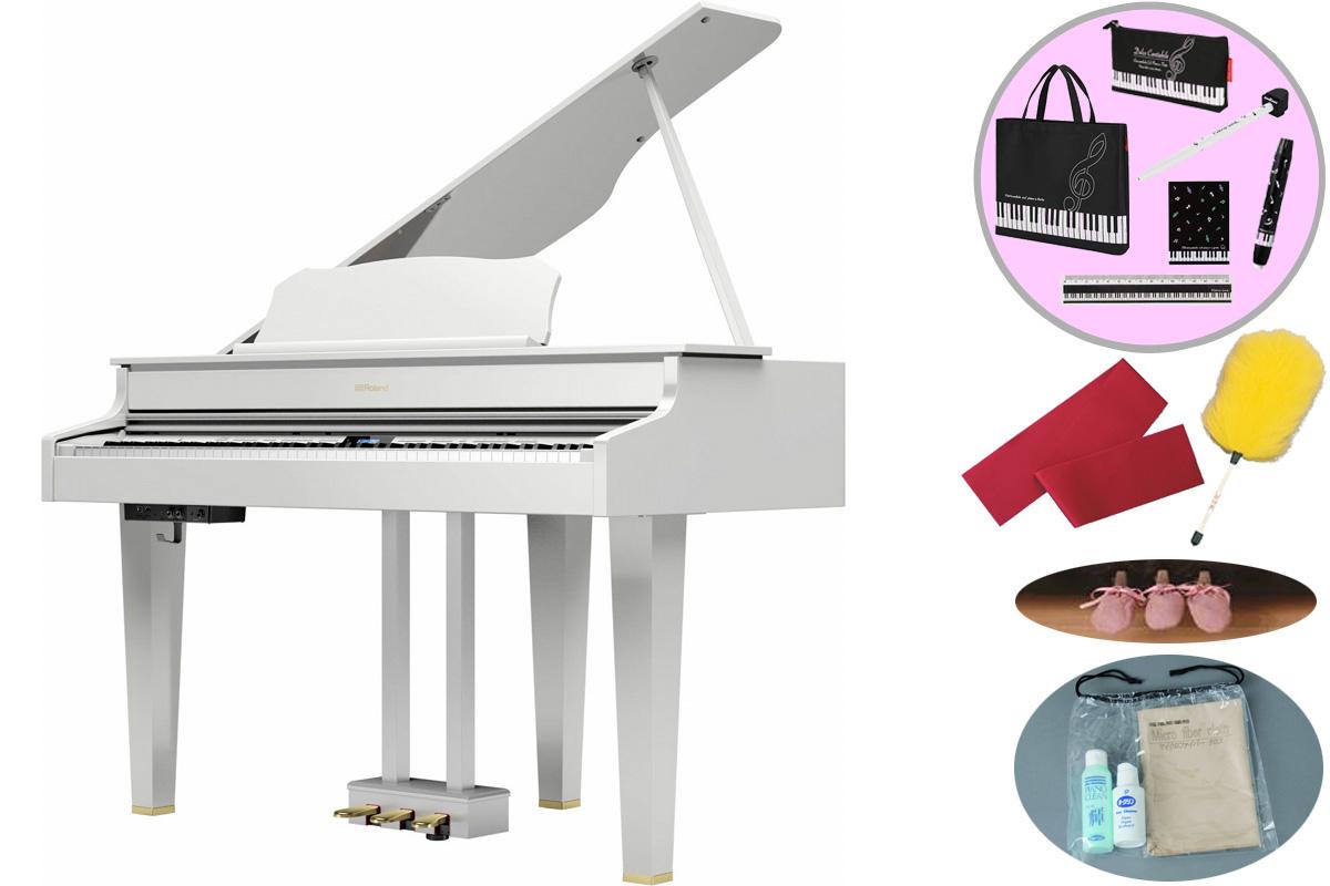 Roland ローランド / GP607 PWS 白塗鏡面塗装仕上げ 電子ピアノ (GP-607)(GP607-PWS)【全国組立設置無料】【代引き不可】【YRK】【お手入れセットプレゼント:set78333】《レッスンバッグセットプレゼント:411138700》《納期/9月下旬以降》