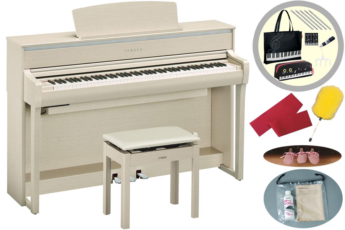 YAMAHA ヤマハ / CLP-675WA ホワイトアッシュ調仕上げ Clavinova クラビノーバ (CLP675)電子ピアノ【代引き不可】【全国組立設置無料】【YRK】【お手入れセットプレゼント:set78332】《レッスンバッグセットプレゼント:411138700》《納期/12月下旬以降》