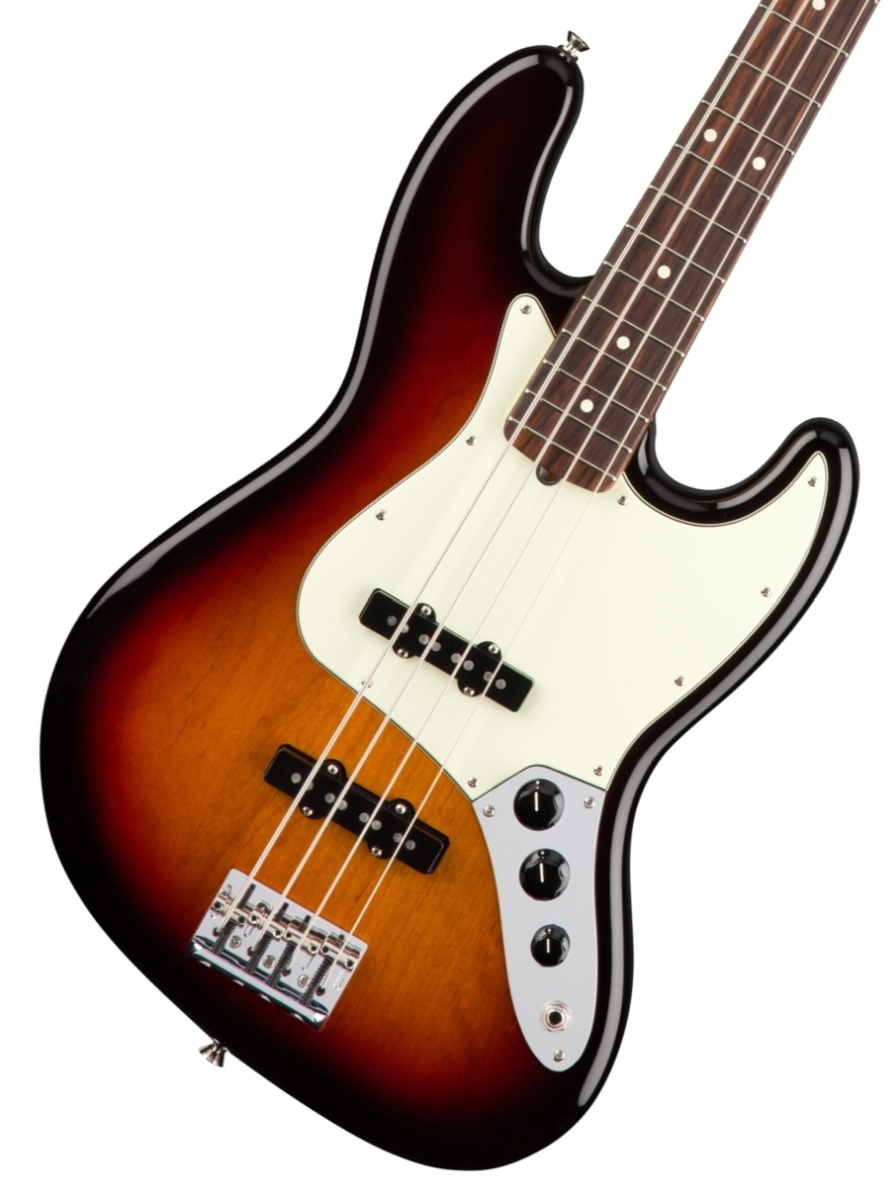 Fender USA / American Pro Jazz Bass 3 Color Sunburst Rosewood フェンダー《フェンダー純正グッズを進呈/+79083》