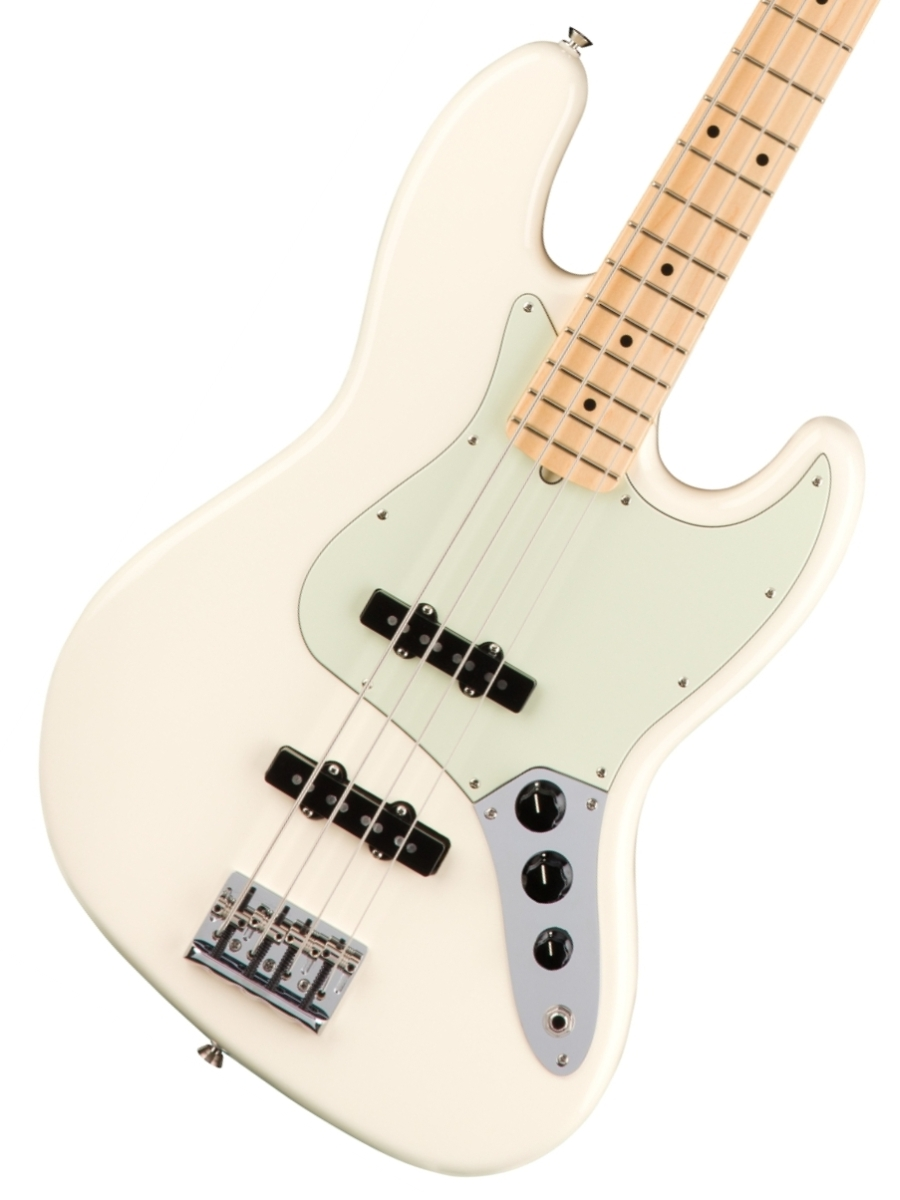 Fender USA / American Pro Jazz Bass Olympic White Maple フェンダー【お取り寄せ商品】《フェンダー純正グッズを進呈/+79083》