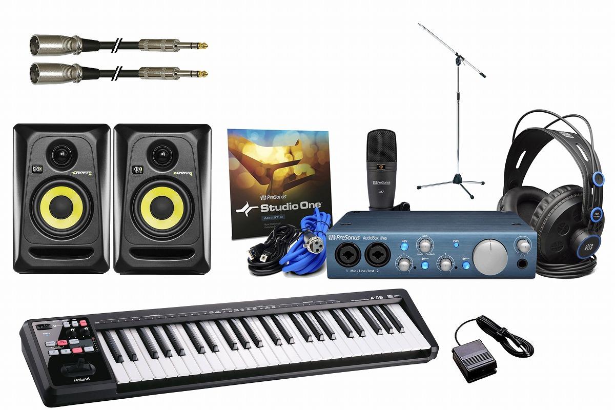 PreSonus プリソーナス / AudioBox iTwo STUDIO 【ブラックカラー豪華オプションセット!】
