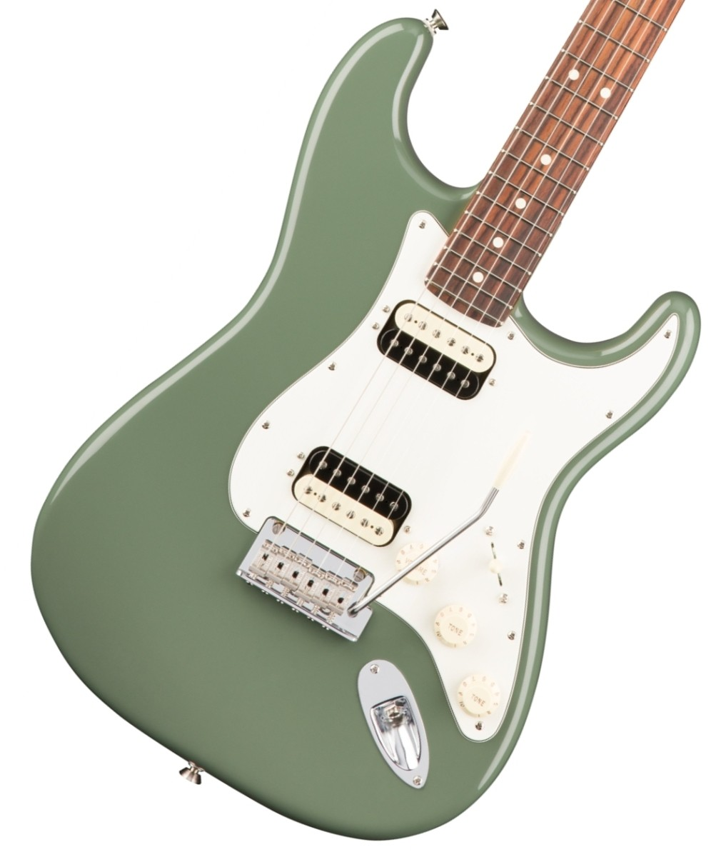 Fender USA / American Pro Stratocaster HH Shawbucker Antique Olive Rosewood フェンダー《カスタムショップのお手入れ用品を進呈/+671038200》《フェンダー純正グッズを進呈/+79083》