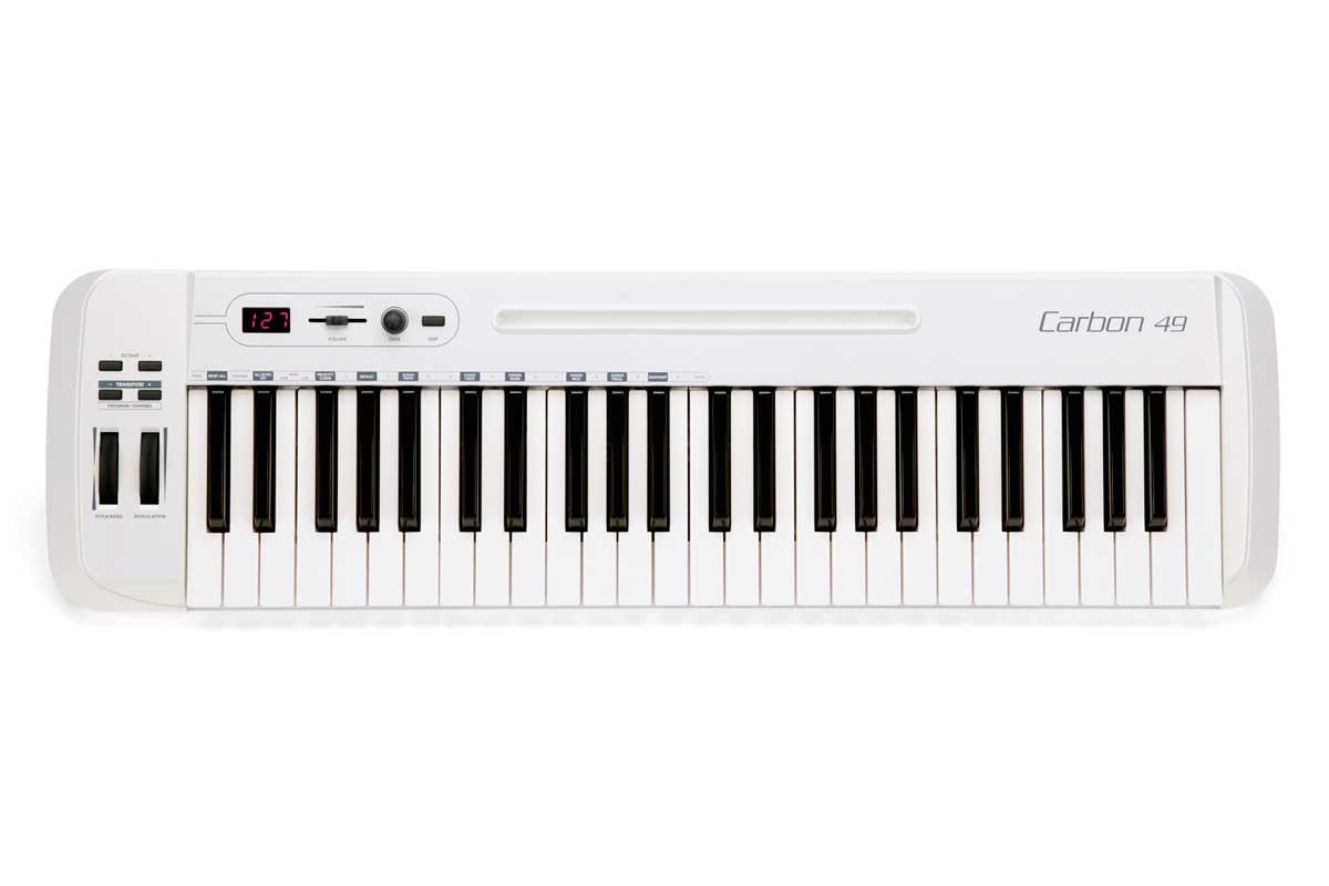 SAMSON サムソン / Carbon 49 USB MIDI コントローラー 49鍵【お取り寄せ商品】