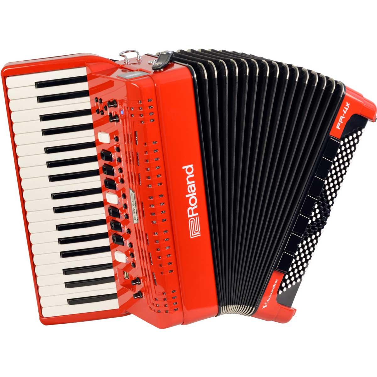 Roland ローランド / V-Accordion FR-4X RD レッド Vアコーディオン ピアノ鍵盤タイプ【お取り寄せ商品】《納期別途ご案内》【YRK】