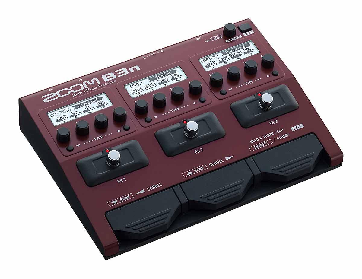 ZOOM / B3N ズーム ベース用 マルチエフェクター 【NAMM SHOW 2017】