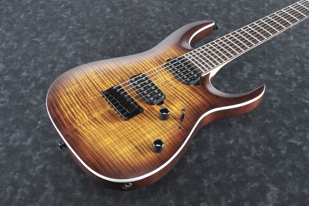 Ibanez / RGA742FM-DEF Dragon Eye Burst Flat) アイバニーズ【お取り寄せ商品】