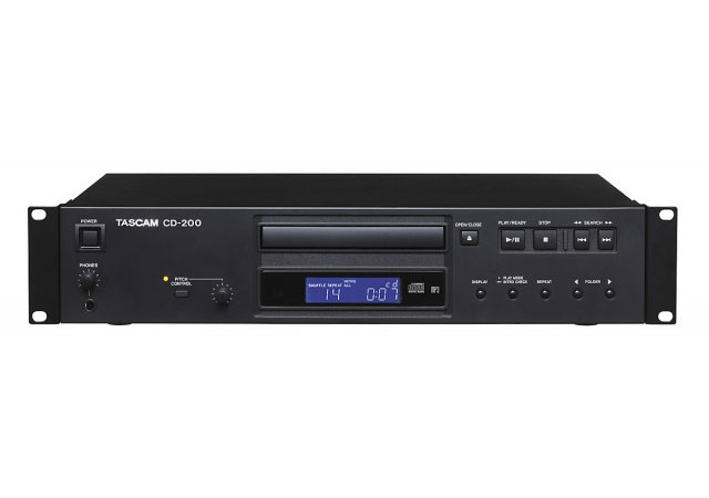 TASCAM タスカム / CD-200 業務用CDプレーヤー【お取り寄せ商品】