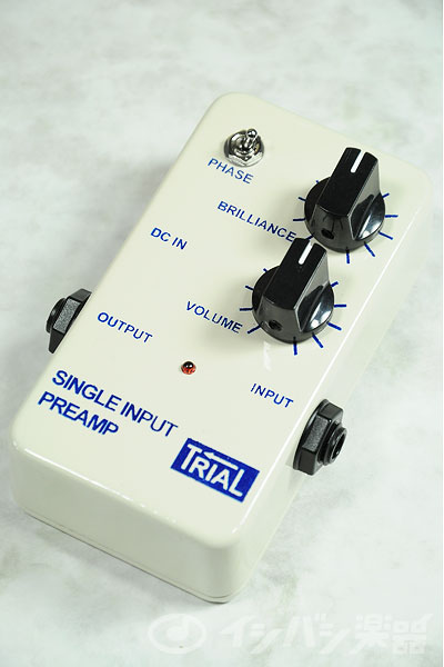 TRIAL / Single Input Preamp 【お取り寄せ商品】