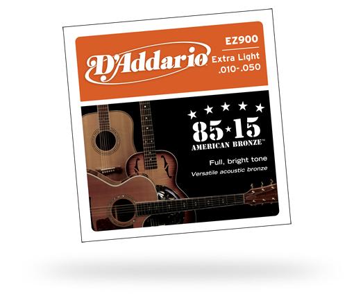 D'Addario / 85/15 American Bronze EZ900 Extra Light 10-50 【★お取り寄せ】
