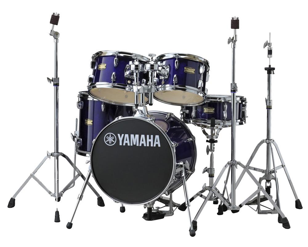 YAMAHA ドラムセット JK6F5DV + HWJK ヤマハ ジュニアキット スタンド類/フットペダル一括セット DPVディープバイオレット【YRK】