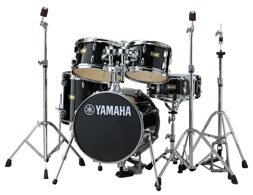 YAMAHA ドラムセット JK6F5RB + HWJK ヤマハ ジュニアキット スタンド類/フットペダル一括セット RBレーベンブラック【YRK】