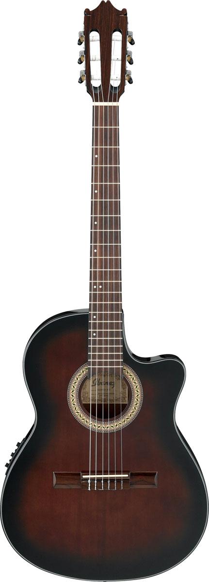 Ibanez / GA30TCE DVS (Dark Violin Sunburst) アイバニーズ エレガット ナイロンストリングス GA-30TCE 【お取り寄せ商品】