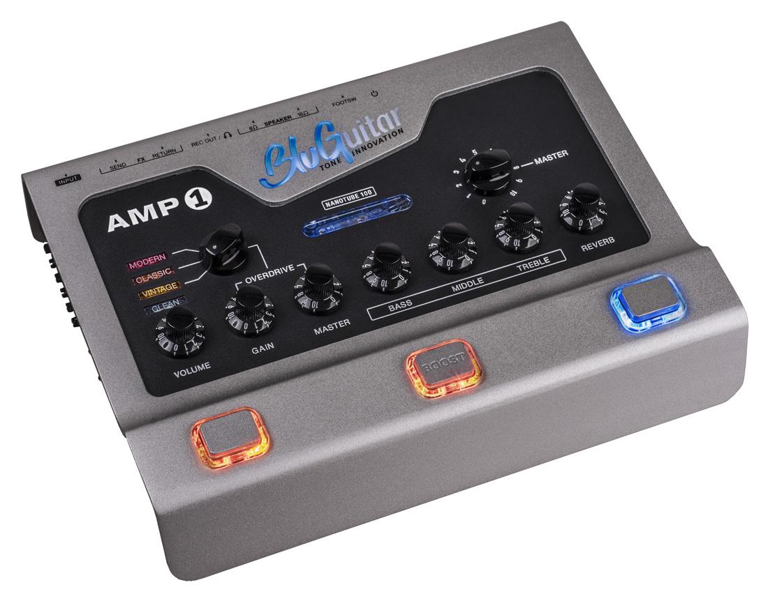 BluGuitar / AMP1 NANOTUBE 100 ペダル型100wギターアンプ ブルギター【お取り寄せ商品】