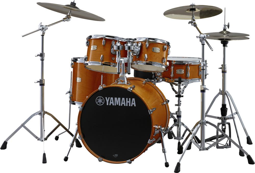 YAMAHA SBP0F5ZBT HAハニーアンバー ヤマハ ステージカスタム ドラムセット 20BD/スタンダードセット+ZBTシンバルセット【YRK】