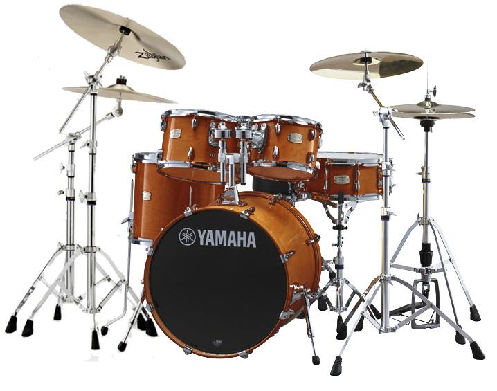 YAMAHA ドラムセット SBP0F5S18-HAハニーアンバー ステージカスタム 20BD/スタンダードセット+ジルジャン・S・3シンバルセットセット【YRK】