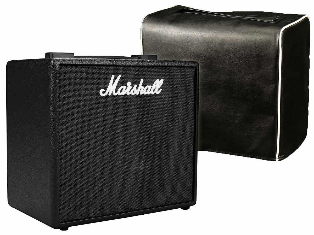 Marshall/ CODE25 コード【オリジナルカバー付きセット】 マーシャル コード Marshall フルモデリングアンプ 《特製Marshallロゴ アクリルキーホルダープレゼント!/+811170600》【YRK】, 定番:f92442e6 --- thomas-cortesi.com
