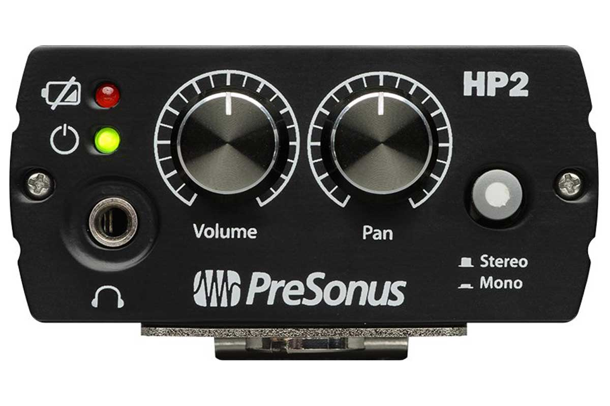 PreSonus プリソナス / HP2 (パーソナル・ヘッドフォン・アンプ)【お取り寄せ商品】