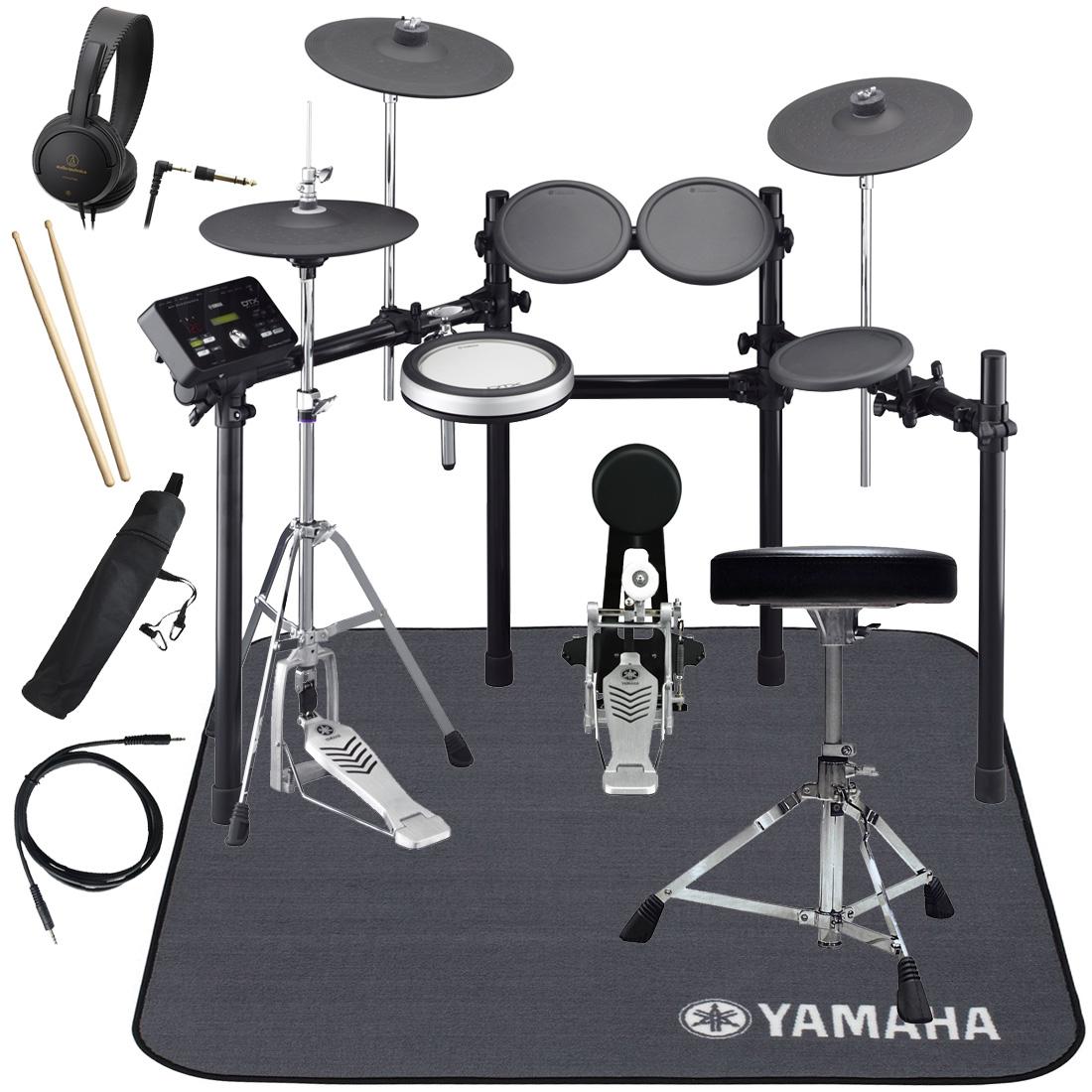 YAMAHA 電子ドラム DTX532KFS ドラムマットDM1314付き スターターパック【YRK】