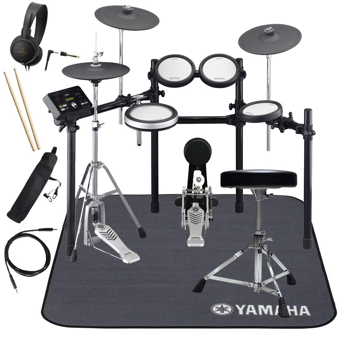 YAMAHA 電子ドラム DTX562KFS ドラムマットDM1314付き スターターパック【YRK】